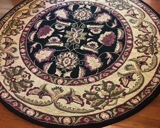 LOVELY ROUND AREA RUG