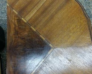 tbs inlay half round table
