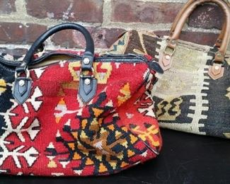 tbs Turkish kilim carpet bags