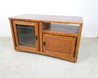 Entertainment Rolling Cabinet