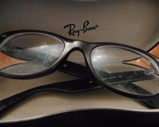 Ray Ban Frames/Glass Case