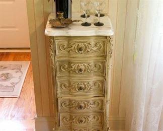 antique side chest
