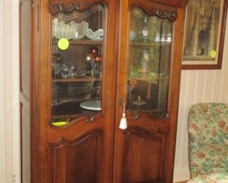 danish carved hutch