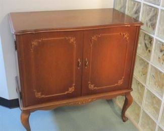 antique storage cabinet