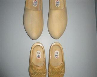 dutch wood shoes
