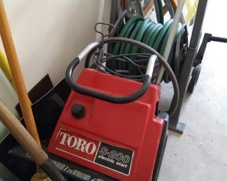Toro snowblower Ready to go for the winter!!