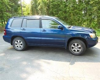 2005 TOYOTA HIGHLANDER GREAT CONDITION