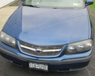 2003 CHEVY IMPALA LS GREAT CONDITION