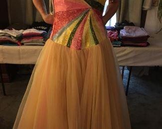 Fabulous Full-length Beaded Evening Dress for Homecoming, Prom, Halloween, Wedding?