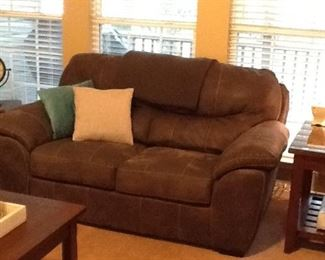 Matching Suede Love Seat by Jaskson Furniture Company