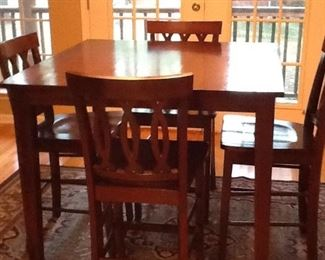 Dining Table w/ Four Chairs