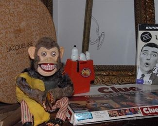 Vintage mechanical monkey