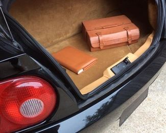 Ferrari 456 GT Original Leather Manual & Tool Kit