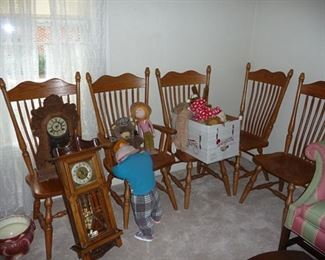 Clocks and Chairs