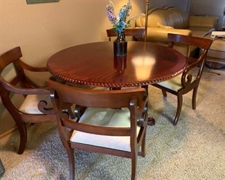 Vintage Chippendale Style Dining Set