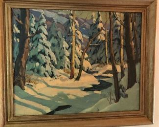 Painting By Leo B. Blake