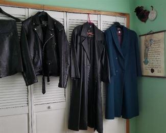 Motorcycle leathers & coats