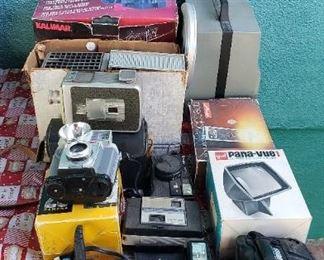 Cameras & projectors