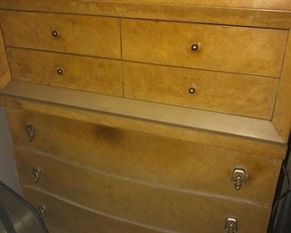CHEST OF DRAWERS BLONDE