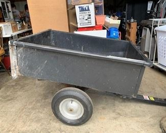 Craftsman pull behind cart