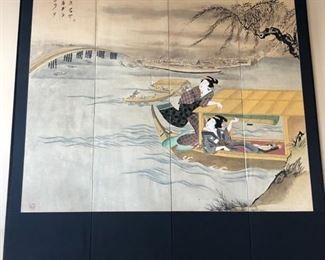 Large--36 x 36 Asian Silk Screen