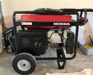 Honda EM 6500SX generator