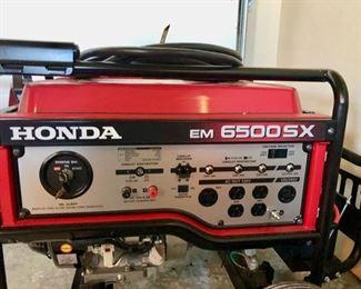 Honda EM 6500 SX Generator