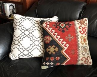 Ornate pillows
