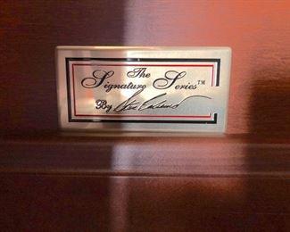 "Polished walnut ""The Signature Series"