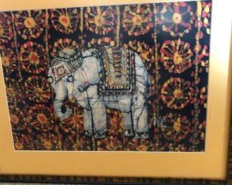 Elephant Batik