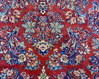 5.9 x 9 The original Karastan Red Sarauk Pattern