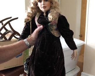 Large Victorian Dolls