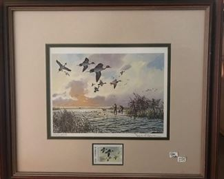 Duck stamps- 12 different stamps available