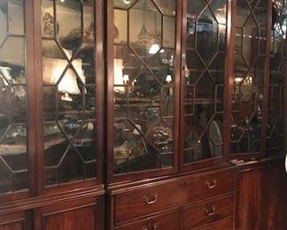 Late 19th century  monumental bookcase secretary