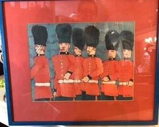 Original Watercolor by retired Trinity art professor Bill  Bristow