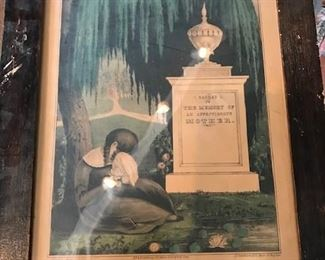Victorian mourning prints