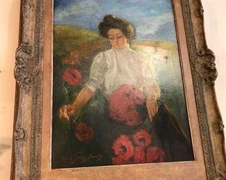 Alfred James Dewey original oil painting
