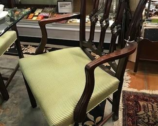 Gorgeous chairs- fabric is pristine