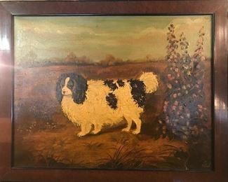 American folk art oil paintings.