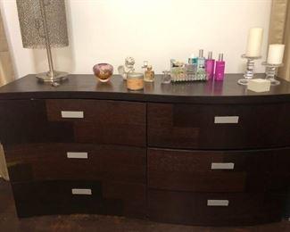 leaning dresser
