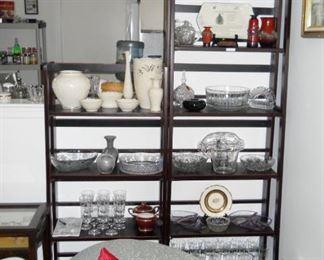 Lenox, Spode, Black Amethyst vase, Art Glass vase, Lava vases, etc.