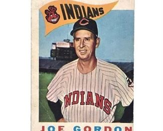 Lot 835 1960 Topps #216 Joe Gordon Card Cleveland Indians Card