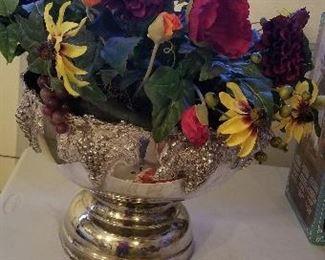 Punchbowl w flowers