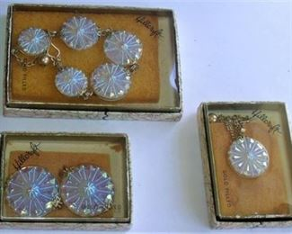 Lot 011 Hillcraft Gold FIlled jewelry set