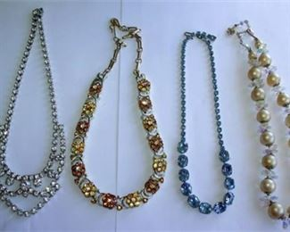 Lot 016 Vendome & other necklaces