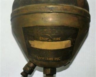 Lot 094 Antique fire extinguisher