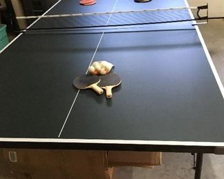 Alternate view of ping pong table