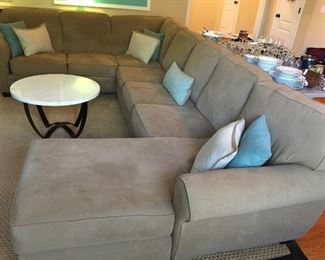 Sectional sofa (with bed)
