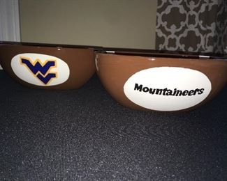 Bowls for football fans
