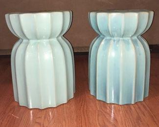 Ceramic stool (pair)
